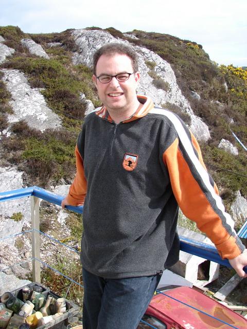 Ich auf der Reise durch Irland 2006