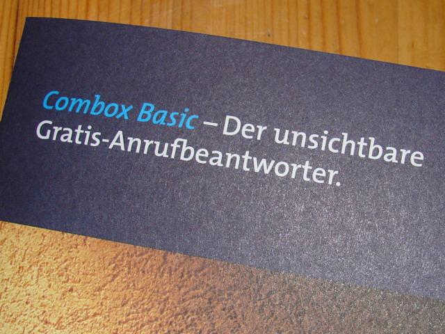 Danke liebe Swisscom