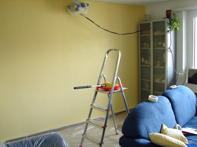 Mein Wohnzimmer kurz vor der Vollendung.