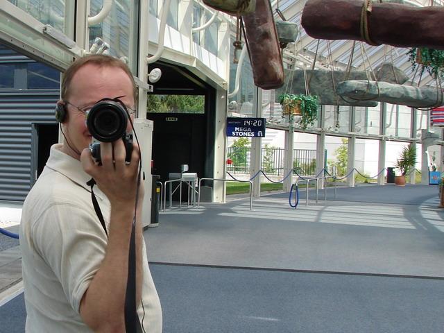 Urs und ich liefern sich ein Fotoduell :-)