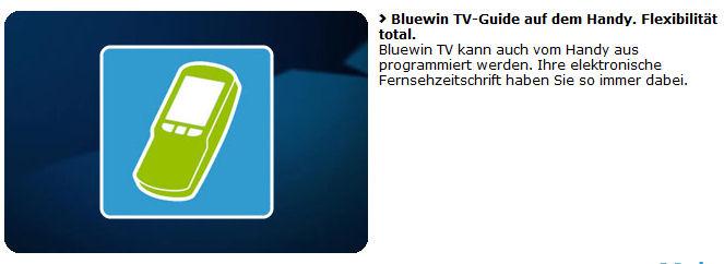 Fernprogrammierung per Handy: Gemäss Werbung ohne Einschränkung, derzeit aber offensichtlich nur mit Swisscom Mobile möglich. Eine unnötige Einschränkung und ein Frust für die alten TV300 Hasen...