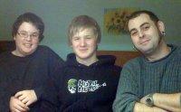 Peter, Dave und Tom - meine drei Brüder.