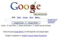 Auf den ersten Blick fast nicht zu erkennen: Da fehlt ein L im Google-Schriftzug