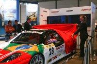 Bruno Sennas Ferrari wurde feierlich enthüllt...