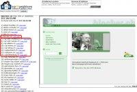 Da wundert sich Ex-SVP-Präsident und Bundesrat Christoph Blocher über seine unmittelbaren Nachbarn... auf «seinem» Webserver.