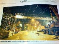 Gestern im St. Galler Tagblatt über den Bau einer Brücke für 290'000 Franken.