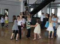 Gemeinsames Tanzen nach dem Test