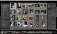 Mit einer aufgeräumten Oberfläche empfängt Adobe Photoshop Lightroom den Anwender.